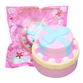 Bue-knude Double Cake Squishy 9cm Jumbo Med Packaging Collection Gave