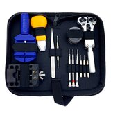 30Pcs Professional Watch Strap Remover Watch Repair Tools Kit with Black Carrying Case