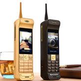 C10 2.8'' 16800mAh Batterie Chargeur Antenne Écran Tactile Lampe de Poche Dual SIM  Rétro Militaire Téléphone de Fonction