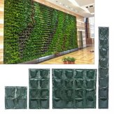 8/8/16 Bolsillos Vertical Garden Planta Growing Container Bolsa Greening Flower Colgante de pared Plantaer