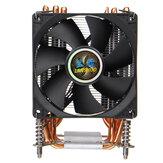 CPU-koeler 3-pins / 4-pins 6 Heatpipes Heatsink-ventilator Koeling Stille ventilatorkoeler voor LGA 1150/1151/1155/1156/1366/2011/X79/X99/299