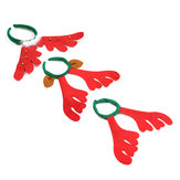 Christmas Reindeer Deer Antlers Headbrand Cabelo Banda Xmas Fancy Dress Accessories
