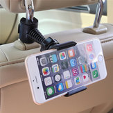 Multifunctional 360 Degree Rotating Bicycle Handle Car Back Seat Stand Head Rest Phone Holder Bracket