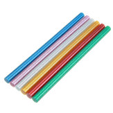 10Pcs 11mmx200mm Colorful Glitter Hot Melt Glue Stick Colorant DIY Crafts Repair Model Adhesive Sticks