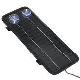 12V 4.5W Panneau solaire portable Power Car Batterie Chargeur de batterie de sauvegarde extérieure
