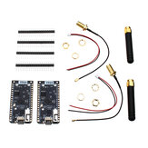 2Pcs LILYGO® TTGO ESP32 SX1276 LoRa 868MHz bluetooth WI-FI Lora Internet Antenna Development Board