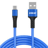 ENKAY ENK-CB302 2.4A Data Cable Micro USB Fast Cahrging For ASUS ZenFone Max Pro (M1) ZB602KL