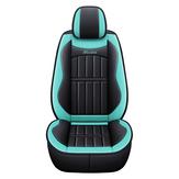 Univerzális PU bőr autó első üléspárnahuzat csúszásgátló védőszőnyeg fekete