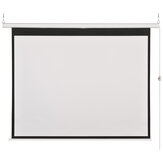 100-inch 16:9 Electric Grey Glass Fiber Projection Screen Home Cinema Theater Projector HD Electric Projection Curtain