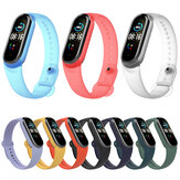 Bakeey Pure Color Transparent Watch Bande Remplacement du bracelet de montre pour Xiaomi Miband 5 Mi Bande 5