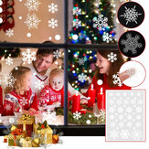 Christmas Snowflakes Window Clings Decals Winter Decorations for 2020 Christmas Home Window Decor