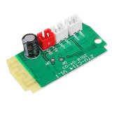 3pcs 3Wx2 Mini bluetooth Receiver Module With 4Ohm Speakers Power Amplifier Audio Board Decoding MP3 Module