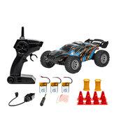 S809 عدة البطارية RTR 1/32 2.4G 2WD سيارة صغيرة RC مزدوجة السرعة مركبات على الطرق الوعرة للأطفال ألعاب أطفال LED ضوء نموذج