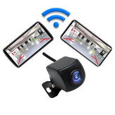 Wifi Wireless  IP67 Waterproof Car Rearview Camera For iOS / Android Black