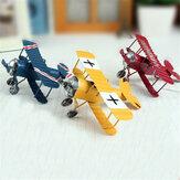 Zakka Plane Toy Classic Коллекция моделей Детская память Антикварные игрушки для олова Домашний декор