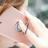 Baseus oreillette à oreille en métal portable support en anneau support porte-anneaux pour iPhone Samsung Xiaomi