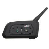 Zestaw słuchawkowy z mikrofonem 1000M do motocykla z funkcją Bluetooth