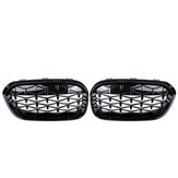 Front Grille Grill Black Diamond Meteor Latest Style For BMW 1 Series F20 15-17