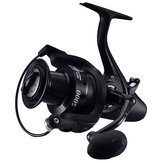 ZANLURE 12 + 1BB 5.1: 1 Carp Fishing Feeder Reel 5000 6000 Metalen Spoel Reels Links Rechts Zee Visserij