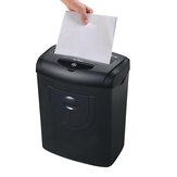 Mini Electric Paper Shredder 5.5L Capacity 7 Paper Once One Time Broken Card Machine Household Mute Shredder
