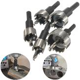 5pcs 16-30mm HSS Hole Saw Cutter Drill Bit