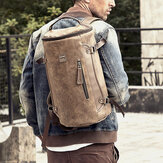 Men Vintage Large Capacity Backpack Casual Travel Bag