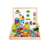 Children's Magnetic Puzzle Double-sided Puzzle Drawing Board Early Childhood Education Indoor toys