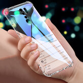Bakeey for Xiaomi Redmi 9 Case Air Bag Shockproof with Lens Protect Transparent Non-yellow Soft TPU Protective Case Non-original