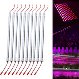 10PCS 50CM SMD5730 Red:Blue 5:1 LED Plant Grow Rigid Strip Hydroponic Bar Light Kit DC12V