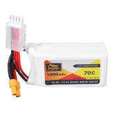 ZOP Power 11.1V 1000mAh 70C 3S Lipo Battery XT30 Plug