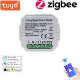 220-240V Tuya Smart Solution Interruptor de atenuación bidireccional ZB Módulo de modificación de casa inteligente