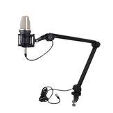 Alctron MA614 Microfoon Beugel Houder voor Uitzending Audio-opname Desktop Microfoons Gimbals Ophanging Boom Schaararm Stand Holder