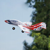 MinimumRC Flycat 340mm Apertura alare KT Foam Mini RC Airplane Racer KIT con EDF / EDF + Servi