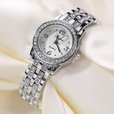 LVPAI XR1671-1 Diamond Dress Full Steel Ladies Wrist Watch