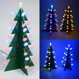 Geekcreit® DIY Star Effect 3D LED decoratieve kerstboomset