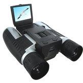 IPRee ™ 12x32 1920X1080p Completo HD Vídeo Cámara Telescopio Binocular con pantalla de 2 pulgadas
