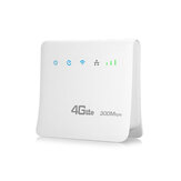 4G 300Mbps WiFi Router LTE CPE Mobile Router Mendukung Kartu SIM Wireless Router Hotspot Wireless Router