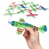 10 stk Banggood Flying Glider Plane Toy Gave Fødselsdag Christmas Party Bag Filler
