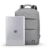 MARK RYDEN MR5911 Podróż 15.6 cali Laptop Backpsck USB Ładowana wodoodporna torba biznesowa