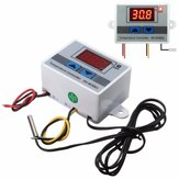 XH-W3001 220V 10A Digital Display LED Temperature Controller With Thermostat Control Probe