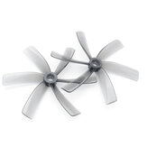 HQProp Duct-75MMX6 75mm 3 Pitch 6 Blades Grey Propeller for FPV Racing Drone Cinewhoop (2CW + 2CCW) - بولي كربونات