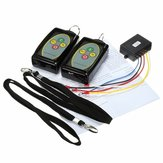 12-24V 434MHz  Winch In Out Wireless Remote Control Switch Key for Truck Jeep SUV ATV Warn
