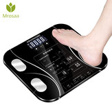 Mrosaa Body Fat Scale Floor Scientific Smart Electronic LED Digital Weight Body Index Badeværelsesbalance BMI-vægte