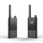 Baofeng BF-T9 1500 mAh Walkie Talkie 400-470 MHz 99 Kanaals USB Opladen Bidirectionele Radio's Buiten Klimmen Reizen
