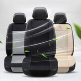 12V Cooling Fan Car Seat Cover Cushion w/ 8 Mini Fans 3 Gear Air Conditioned Pad