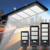 160/240 / 320LED Solar Powered Cahaya Outdoor Wall Street Lampu Radar Sensor Outdoor