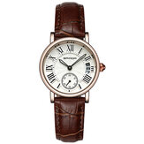 SANDA P206L Casual Style Calendar Women Watch