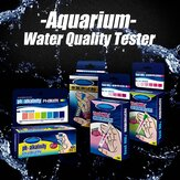 Aquarium Fish Tank PH NO2 NO3 Nitrit Nitrat Klorin Kualitas Air Tester Kit
