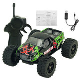 9115M 1/32 2.4G 2WD 4CH Mini alta velocidad Radio RC Racing Coche Rock Crawler Off-Road Truck Toys