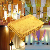 3X5FT Gouden Sequin Foto Achtergrond Trouwfoto Booth Photography Achtergrond